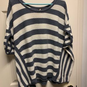 Free people striped top